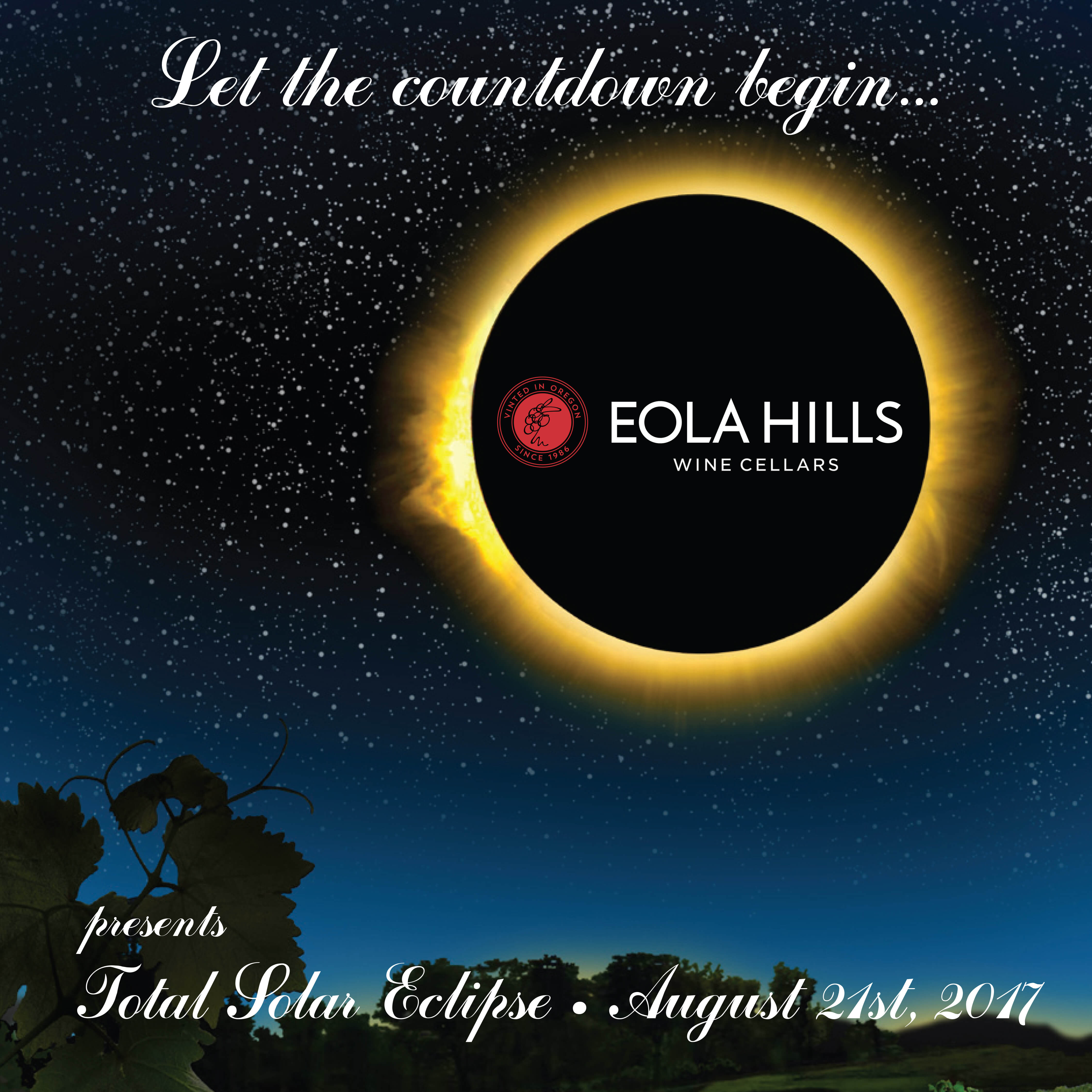 The Great American Eclipse Aug 19-21, 2017