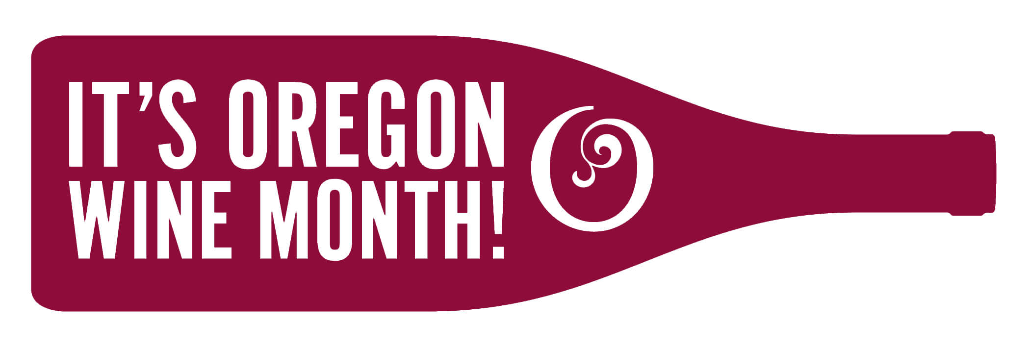 Oregon Wine Month Horizontal