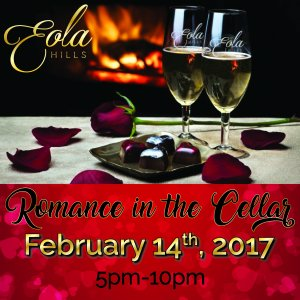 Eola-Hills-Romance-in-the-Cellar-Valentine's-Dinner