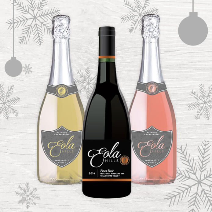 Celebrate the season with our holiday wine offerings.