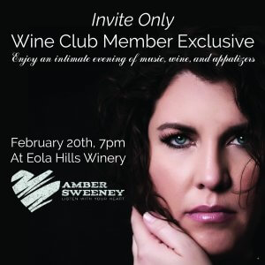 Amber Sweeney - cancelled @ Eola Hills Wine Cellars | Rickreall | Oregon | United States