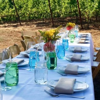 Dinner in the Field with Chef Pascal Chureau 10/28 @ 5:30
