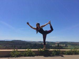 Yoga + Wine at Legacy Estate Vineyard @ Legacy Estate Vineyard   Salem   Oregon   United States