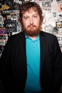 Comedian Daniel Crow at Eola Hills Wine Cellars