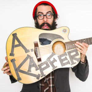 Comedian Anthony Kapfer at Eola Hills Wine Cellars