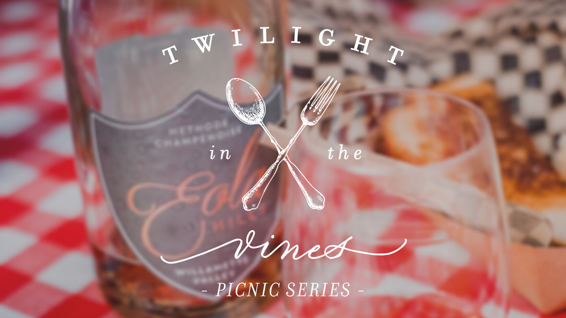 Twilight In The Vines Picnic Series at Eola Hills Legacy Estate Vineyard in Oregon's Willamette Valley